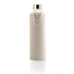 EQUA WATER BOTTLE - MISMATCH FAUX LEATHER BEIGE
