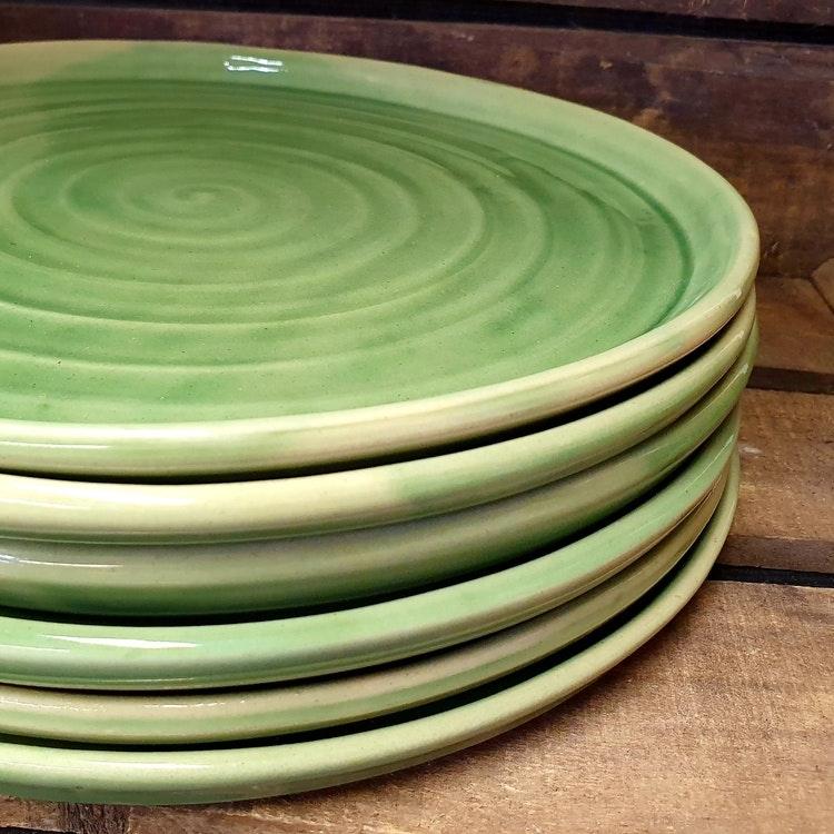 Mattallrik, grön