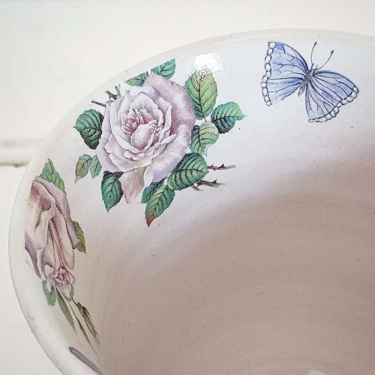 Tekopp, rosor dekaler