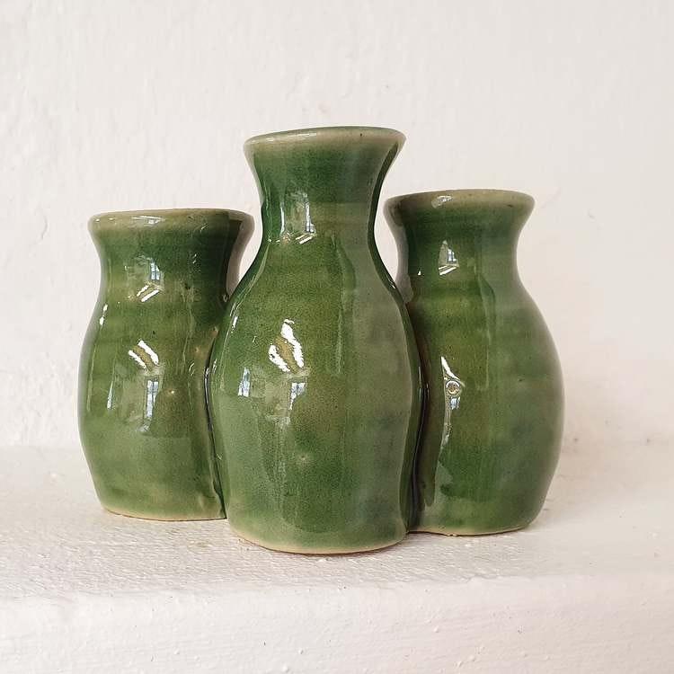 Trippelvas, grön