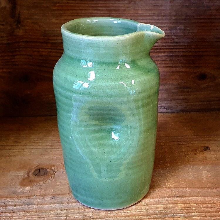 Mjölkkanna grön stor