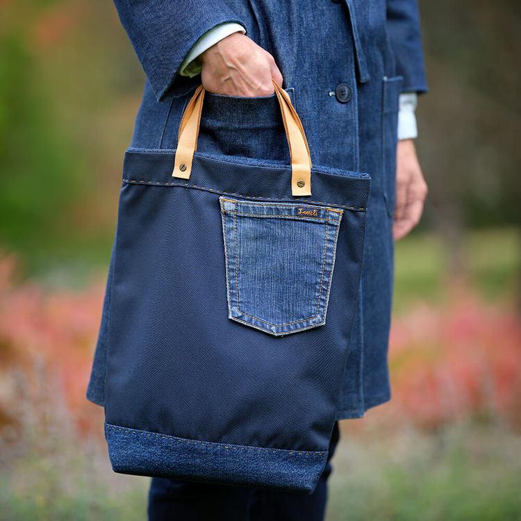Sy en egen väska av jeanstyg. DIY tygväska.