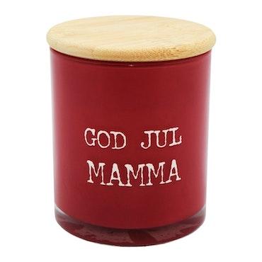 God Jul Mamma Doftljus