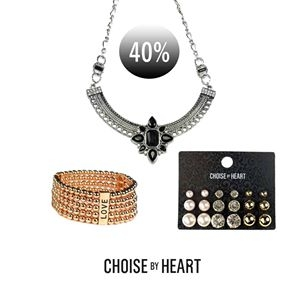 40% på alla smycken