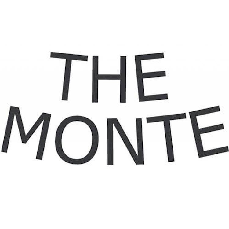 Myntbörs med kortfack skinn svart The Monte