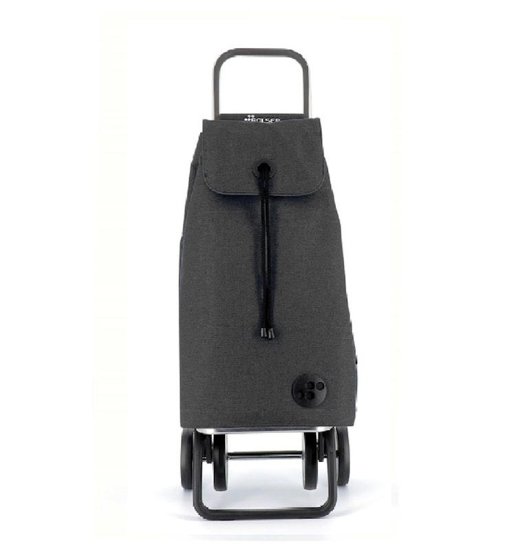 Kopia Shoppingvagn Rolser 2+2 Logic Tweed Imax Negro