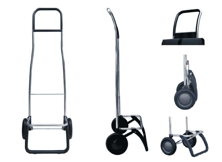 Shoppingvagn Rolser RG Imax MF grå