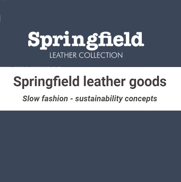 Springfield äkta läderväska 165-11