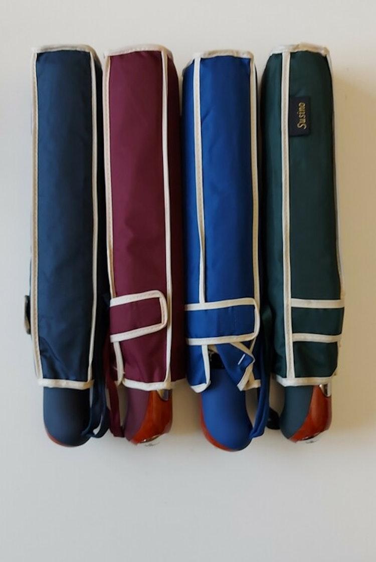 Bra paraply mörkblått