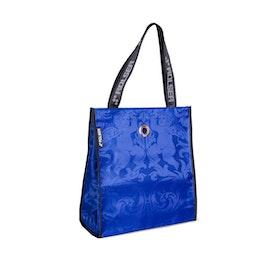 Kasse tyg Rolser Gloria blå
