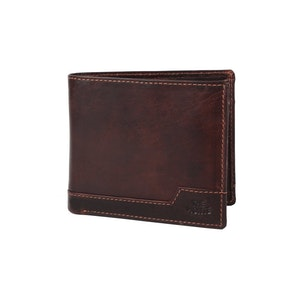 Plånbok dollar skinn brun The Monte 62833