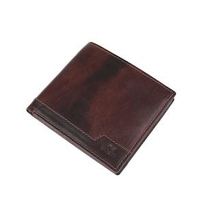 Plånbok dollar skinn brun The Monte 62836