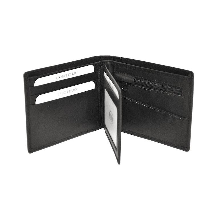 Plånböcker Plånbok dollar skinn svart SAC 6821010
