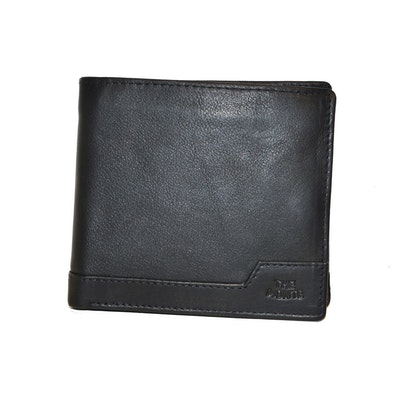 Plånbok dollar skinn svart The Monte 62836