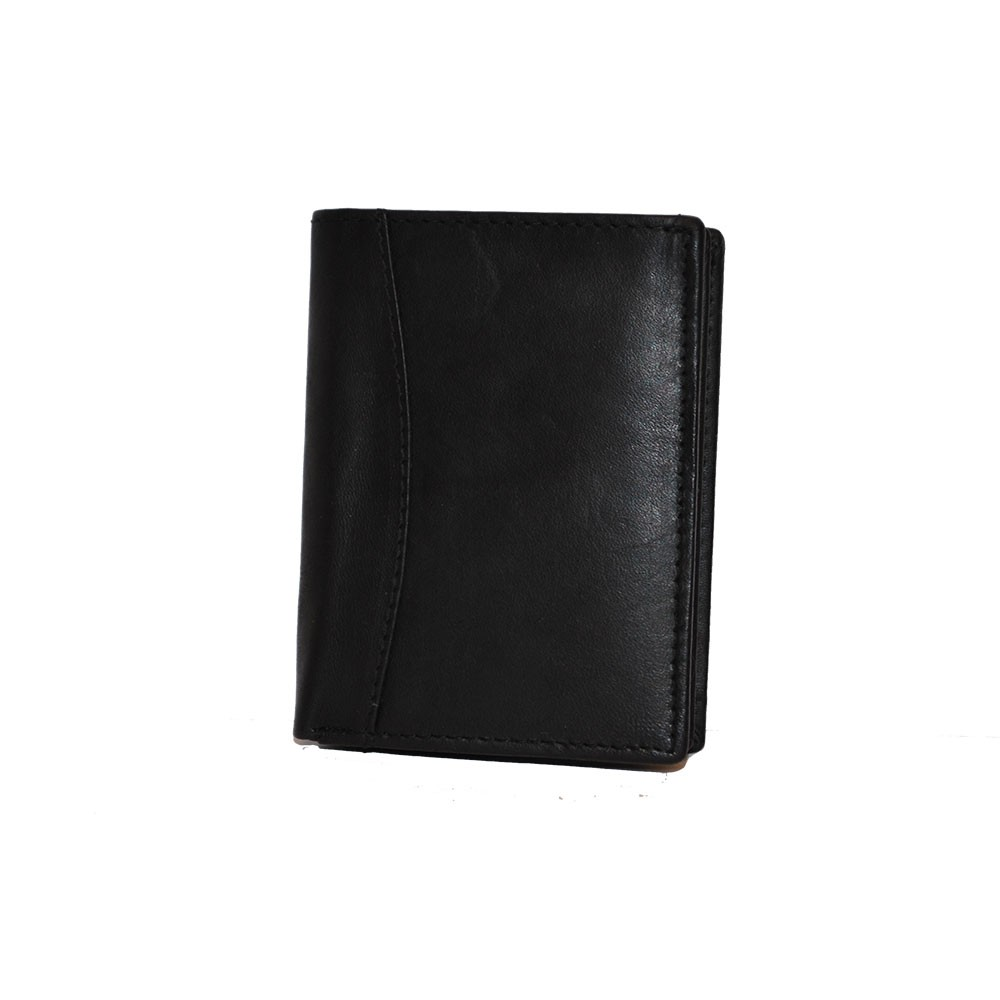 Plånbok skinn svart liten SAC 6820210 - Bags4Fun.se 4e63abb6db38b