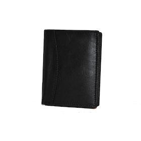 Plånbok skinn svart liten SAC 6820210