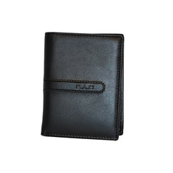 Plånbok skinn svart SAC 6601410