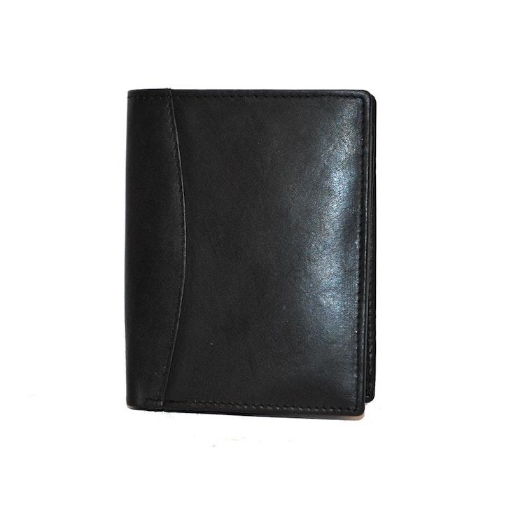 Plånbok skinn svart SAC 68204