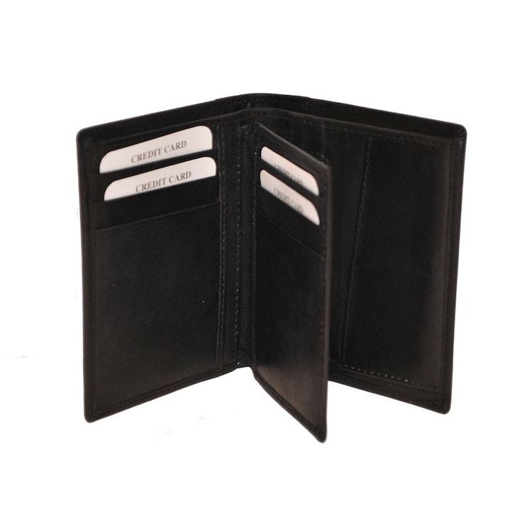 S.A.C Plånbok skinn svart S A C
