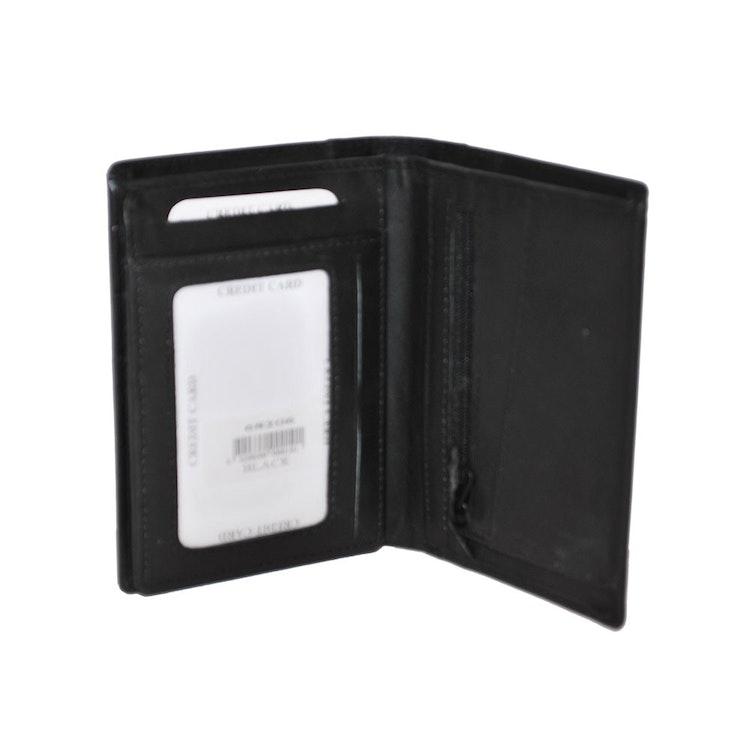 Plånböcker skinn svart SAC 6820610 S.A.C