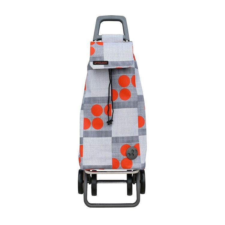 Shoppingvagn Rolser 2+2 Imax Logos röd Shoppingvagn Rolser Dramaten Dramatenvagn pris billig dramatenväska för shopping shoppingkärra