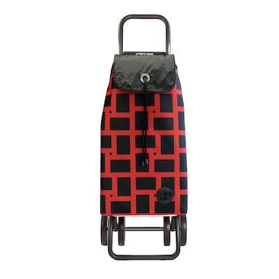Shoppingvagn Rolser 2+2 Logic Geometric röd