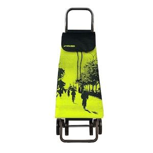 Shoppingvagn Rolser 2+2 Logic Imax City lime