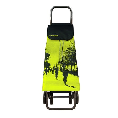 Shoppingvagn Rolser 2+2 Logic Imax City lime