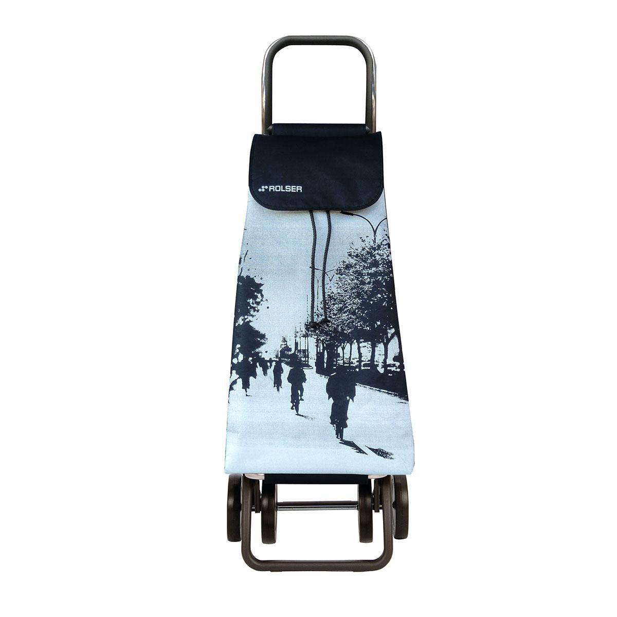 Shoppingvagn Rolser 2+2 Logic Imax City vit