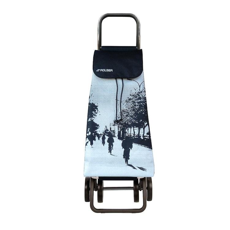 Shoppingvagn Rolser 2+2 Logic Imax City vit Shoppingvagn Rolser Dramaten Dramatenvagn pris billig dramatenväska för shopping shoppingkärra