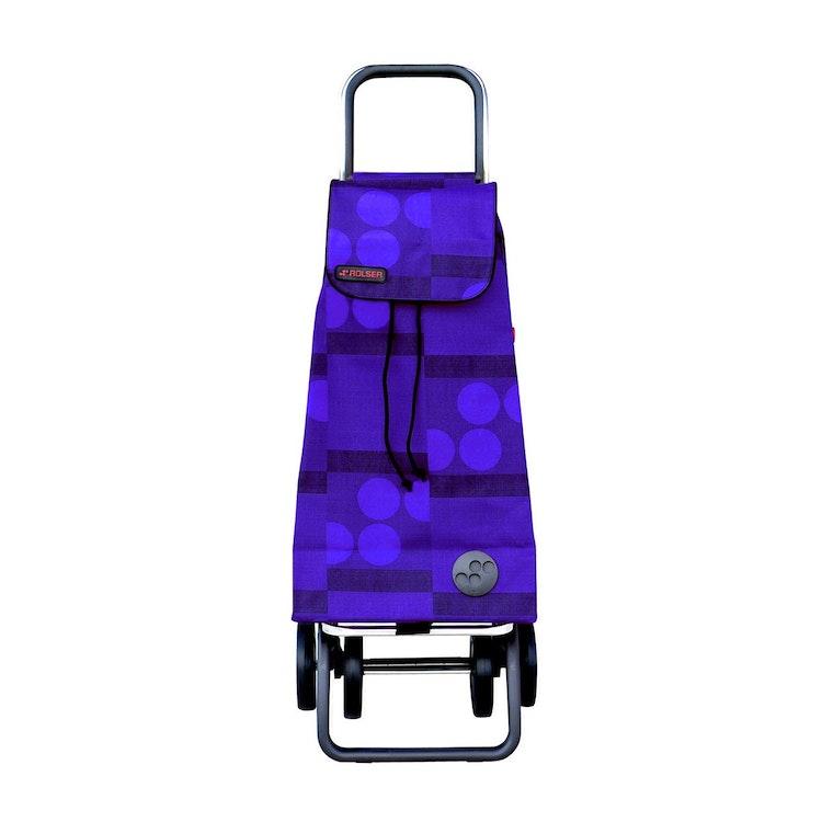 Shoppingvagn Rolser 2+2 Logic Imax Logos blå Shoppingvagn Rolser Dramaten Dramatenvagn pris billig dramatenväska för shopping shoppingkärra