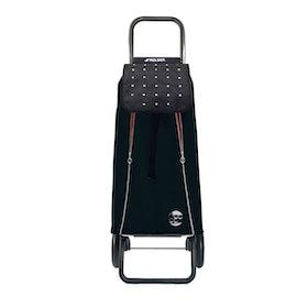 Shoppingvagn Rolser 2+2 Logic Rock Imax svart röd