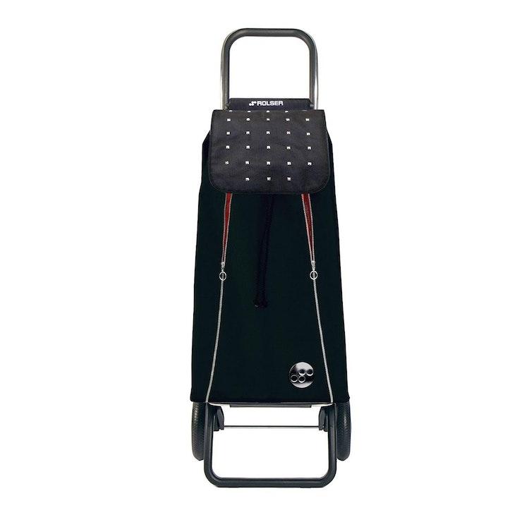 Shoppingvagn Rolser 2+2 Logic Rock Imax svart röd billig pris bäst bra