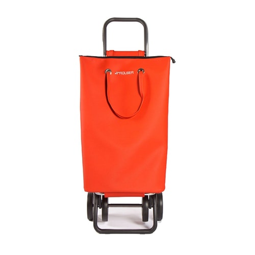 Shoppingvagn Rolser 2+2 Logic Superbag röd