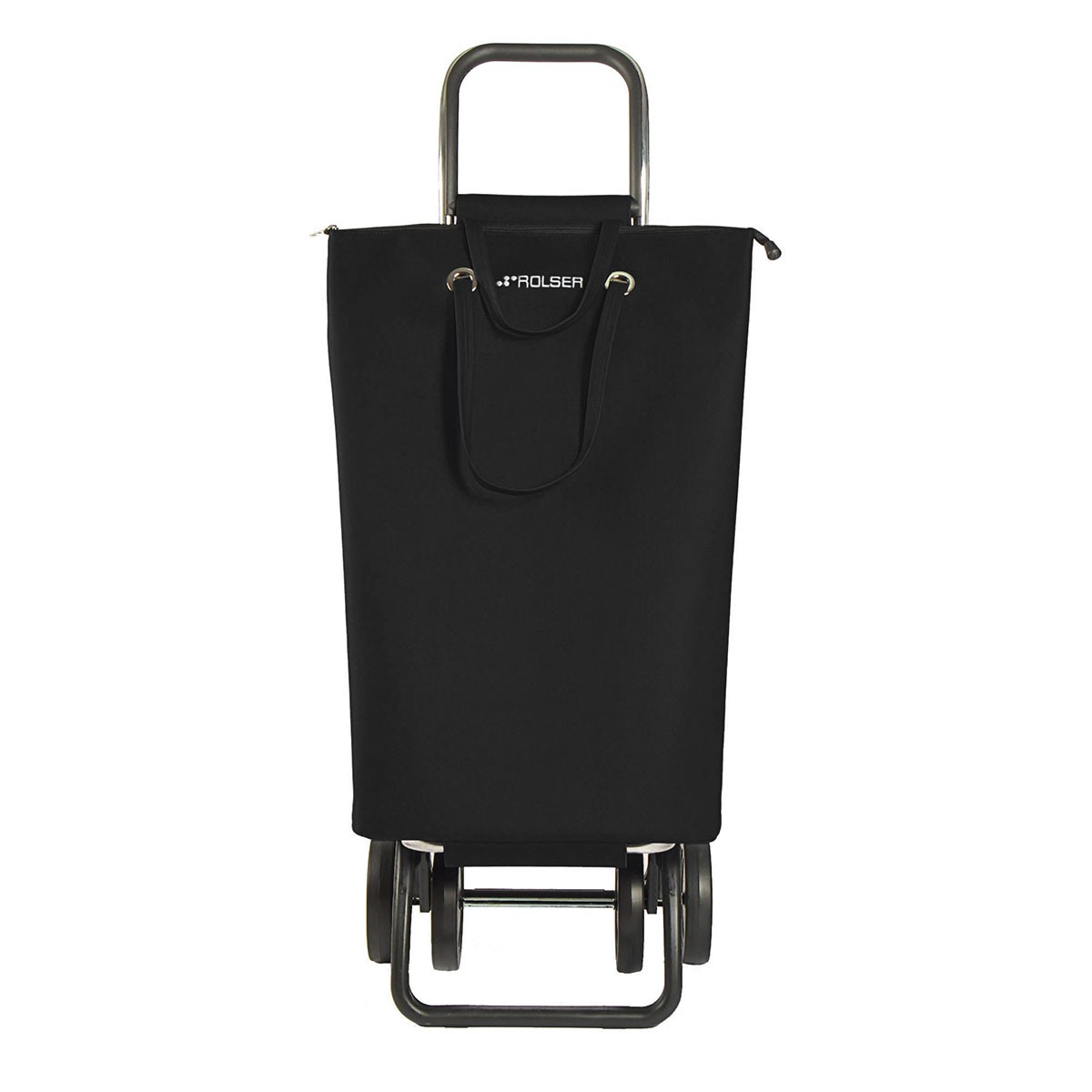 Shoppingvagn Rolser 2+2 Logic Superbag svart