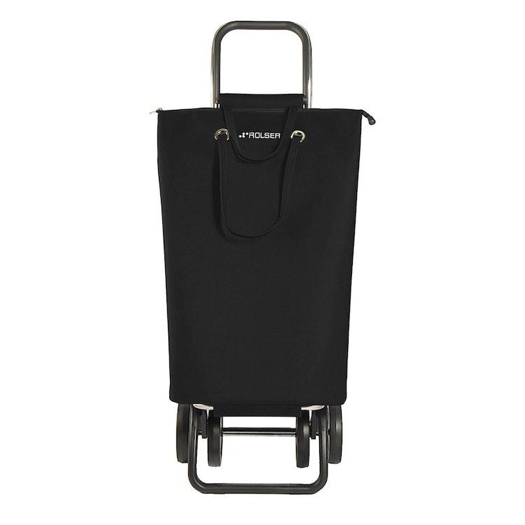 Shoppingvagn Rolser 2+2 Logic Superbag svart