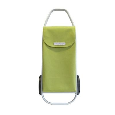 Shoppingvagn Rolser Com 8 skinn limegrön