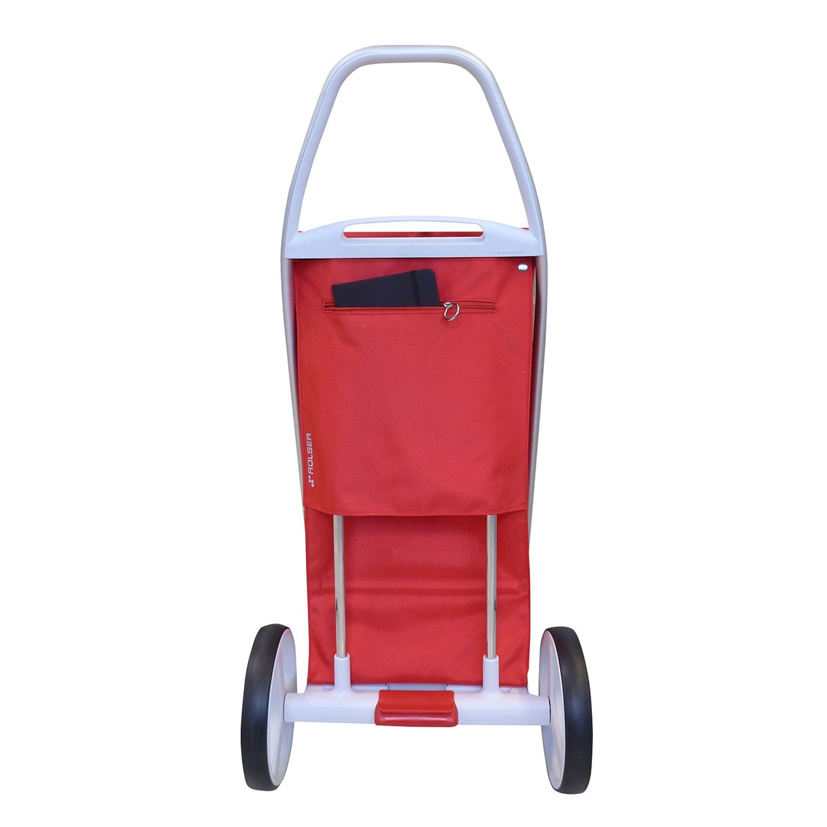 Shoppingvagn Rolser Com 8 vinröd