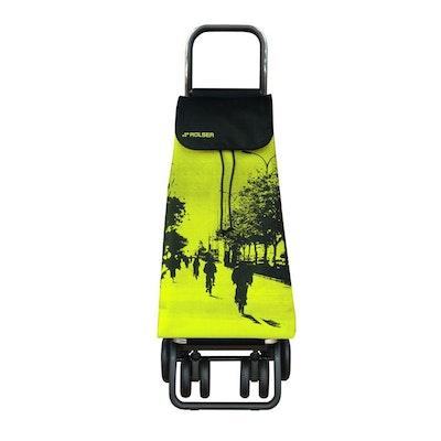 Shoppingvagn Rolser Logic Tour Imax City Lime