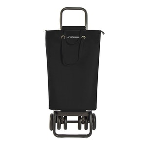 Shoppingvagn Rolser Logic Tour Superbag svart