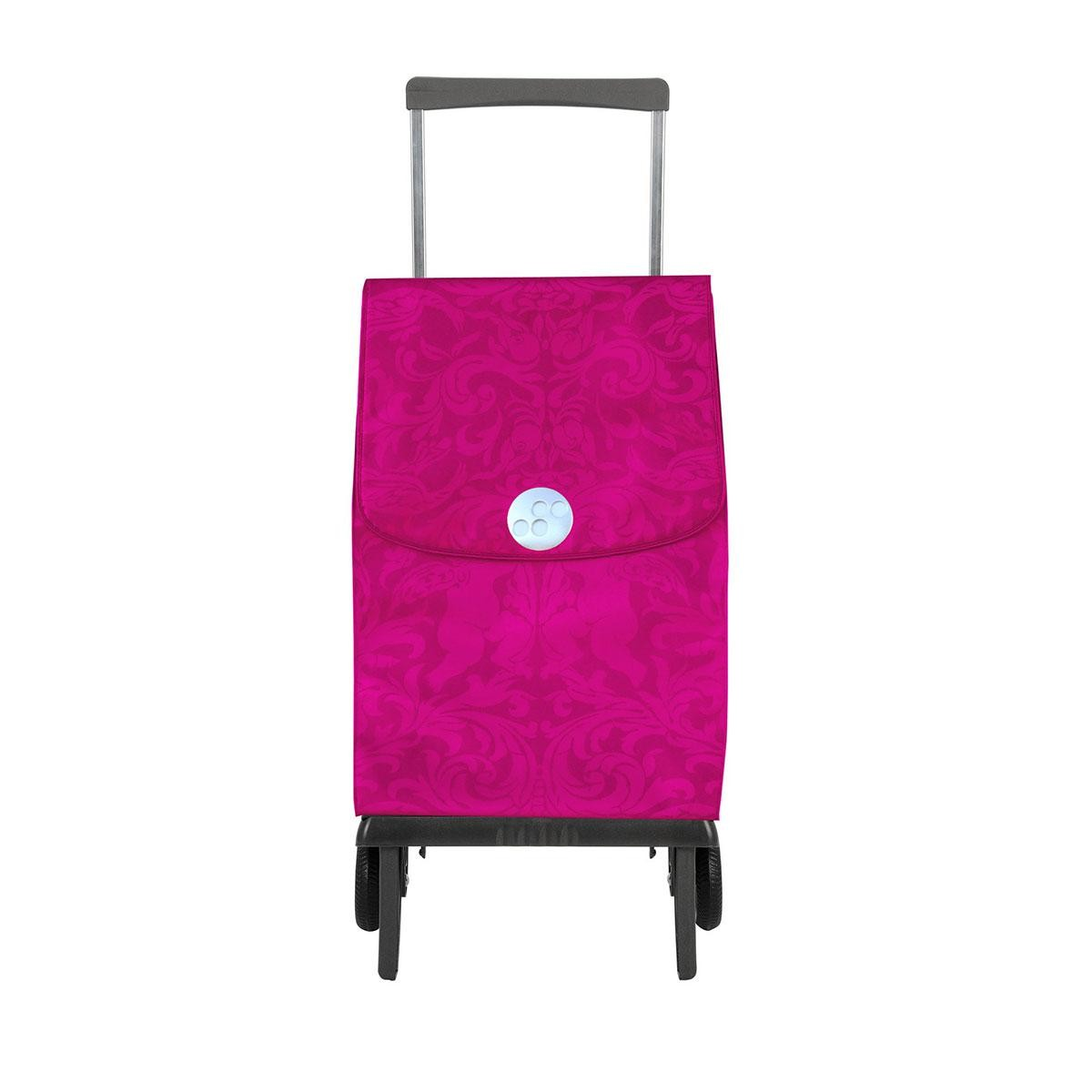 Shoppingvagn Rolser Plegamatic Gloria cerise