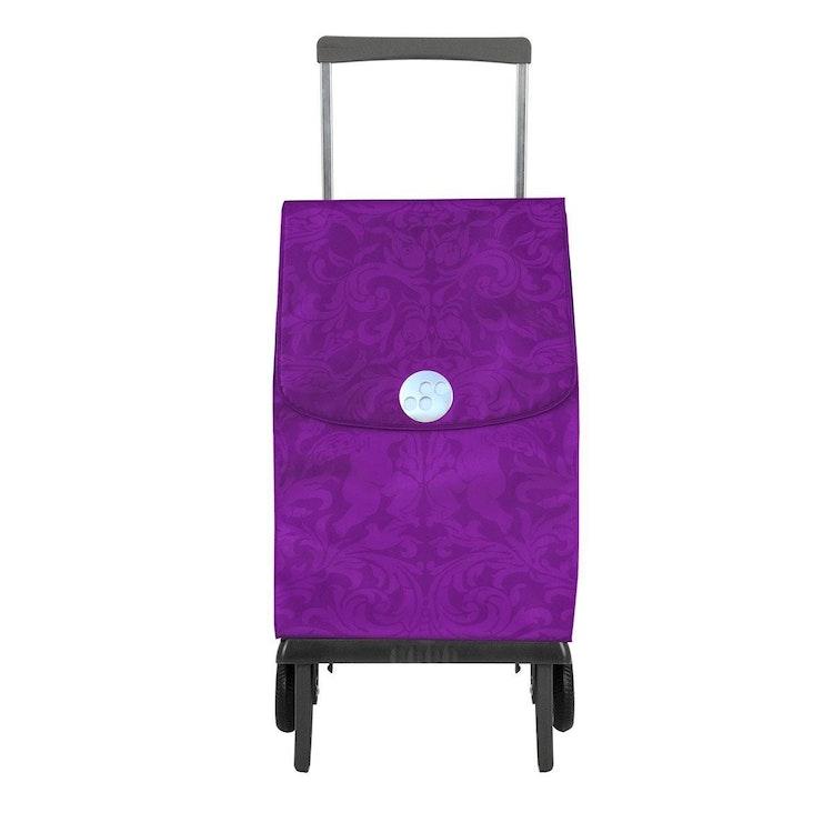 Shoppingvagn Rolser Plegamatic Gloria Malva