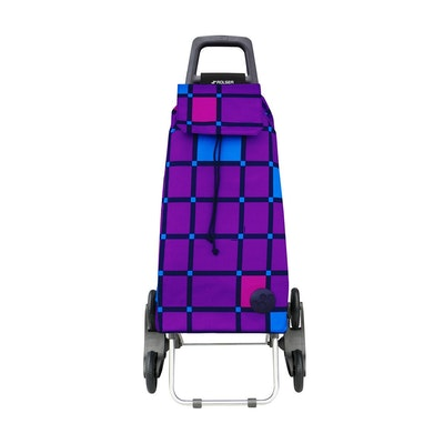Shoppingvagn Rolser RD6 Cuadro lila