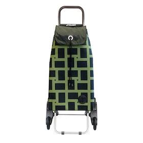 Shoppingvagn Rolser RD6 Logic Imax Geometric grön svart