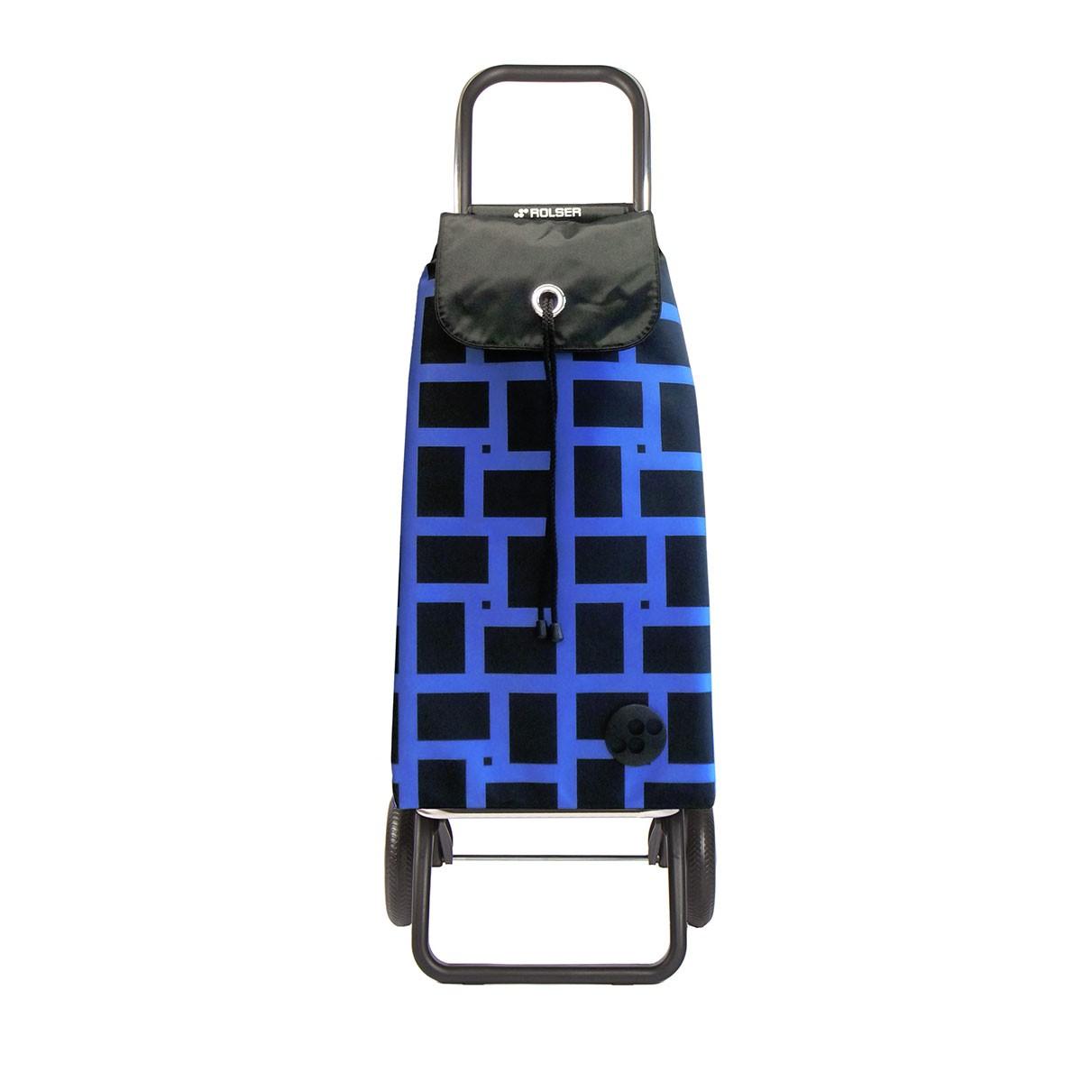 Shoppingvagn Rolser RG Logic Geometric blå