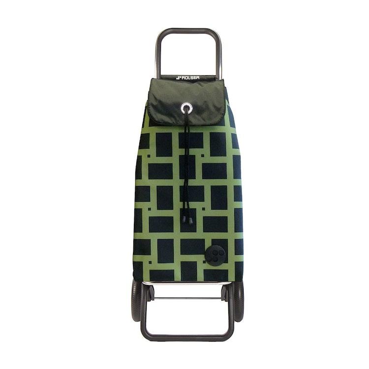 Shoppingvagn Rolser RG Logic Geometric grön