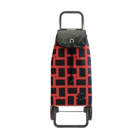 Shoppingvagn Rolser RG Logic Geometric röd