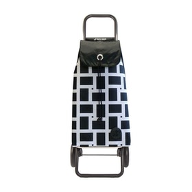Shoppingvagn Rolser RG Logic Geometric vit
