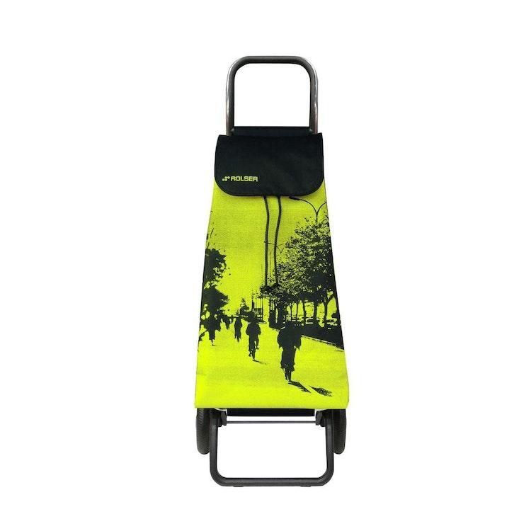 Shoppingvagn Rolser RG Logic Imax City gul bästashoppingvagn pris bra billig