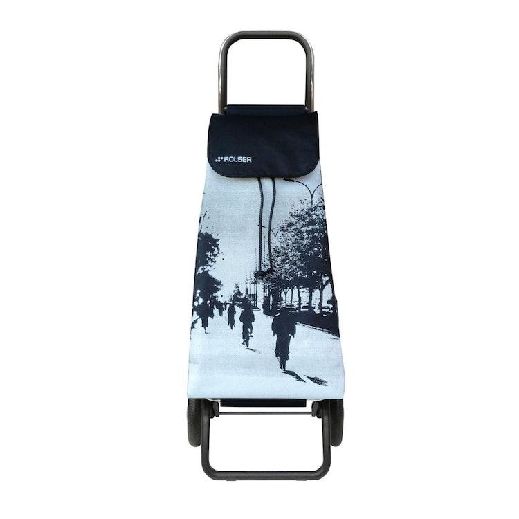 Shoppingvagn Rolser RG Logic Imax City vit billig pris